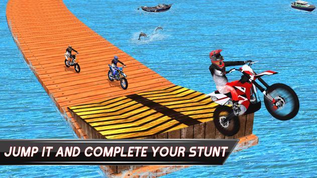 Beach Bike Stunt Rider apk screenshot