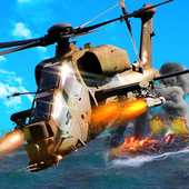 Gunship Helicopter Air Strike - 3D Battle icon
