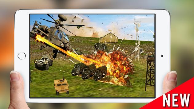 Gunship Air Helicopter War 3D apk screenshot