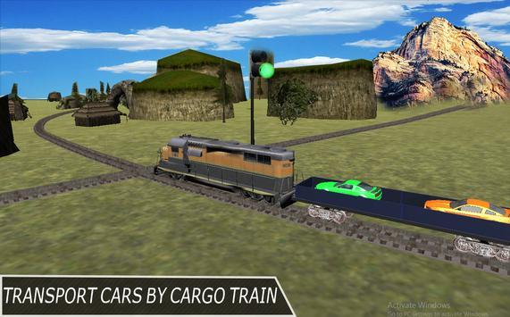 Super Train Cars Transporter apk screenshot