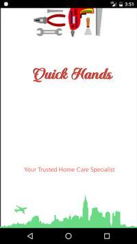 Quick hands poster