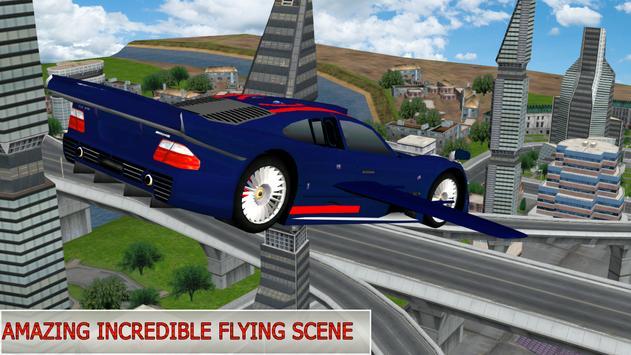 Flying Future Dream Car apk screenshot