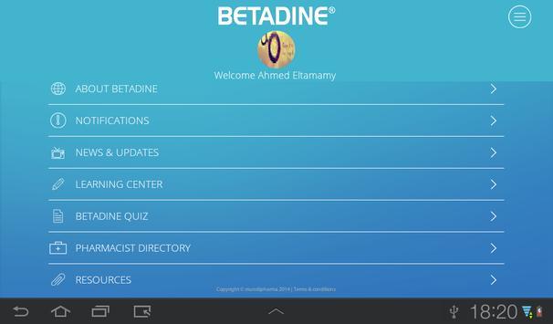 BETADINE® screenshot 11