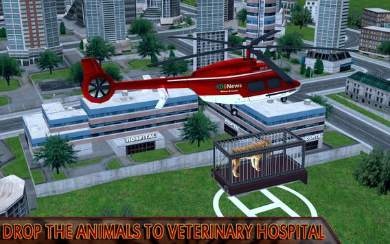 Animal Rescue Heli Transport apk screenshot