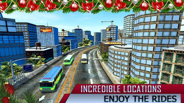 Amazing Christmas Tourist Bus Driving Simulator poster