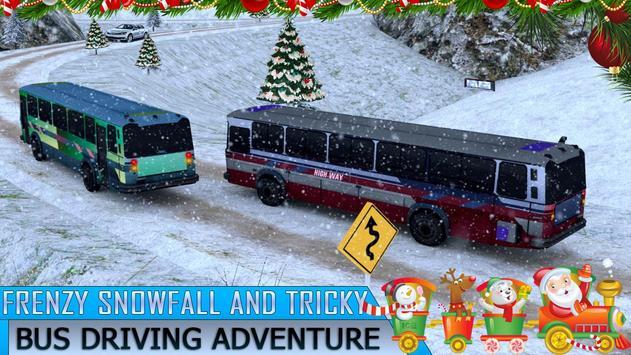 Amazing Christmas Tourist Bus Driving Simulator apk screenshot