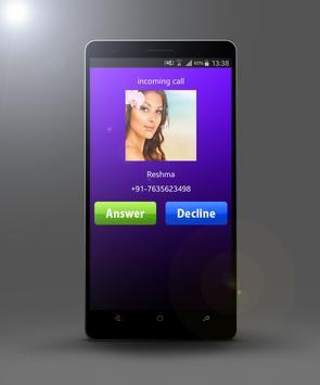 fake Call girlfriend prank poster