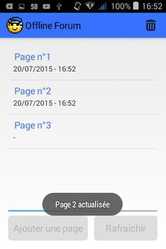 Offline Forum apk screenshot