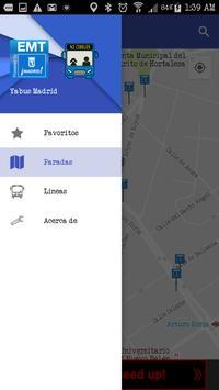 YaBus Madrid EMT bus arrive time apk screenshot