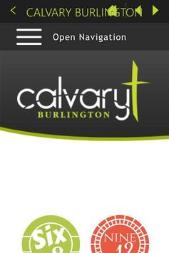 Calvary Burlington poster