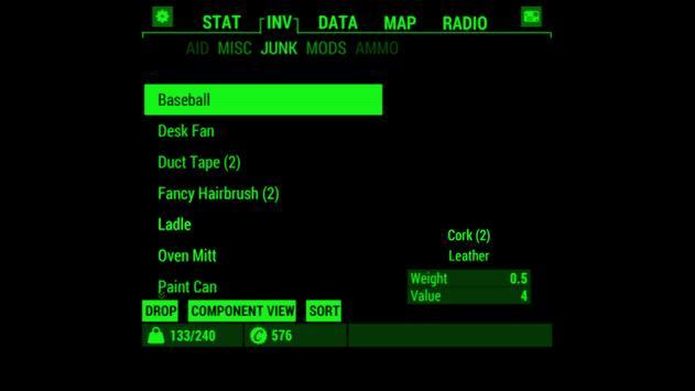 Fallout Pip-Boy Screenshot 1