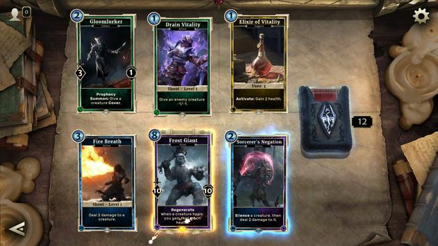The Elder Scrolls®: Legends™- Heroes of Skyrim apk screenshot