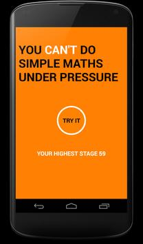 Simple Math Under Pressure poster