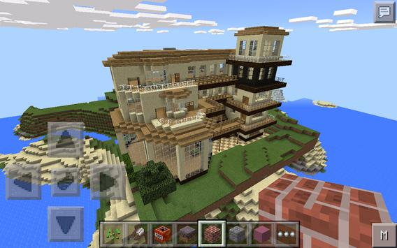 Poster Insta House for Minecraft