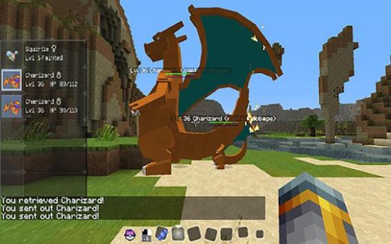 Pokemon Go - PokeCraft Mod For Minecraft PE 1.2.11, 1.2.10,