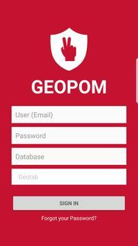 Geopom poster