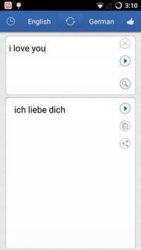 German English Translator poster