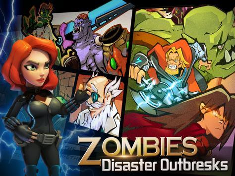 Clash of Zombies: Heroes Game screenshot 6