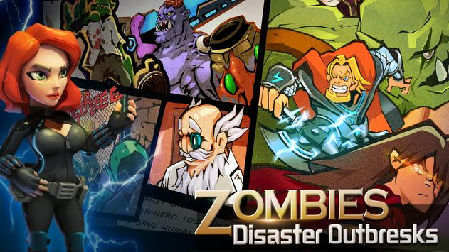 Clash of Zombies: Heroes Game screenshot 1
