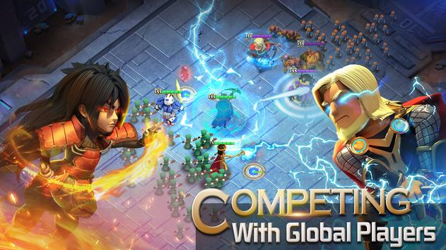 Clash of Zombies: Heroes Game apk screenshot