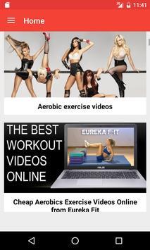Aerobics Videos screenshot 1