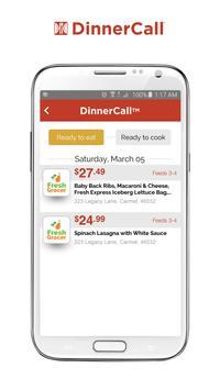 DinnerCall screenshot 1