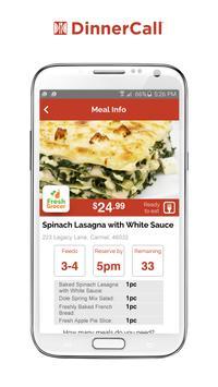 DinnerCall screenshot 2