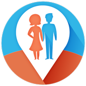 Couple Tracker Free - Cell phone tracker & monitor icon