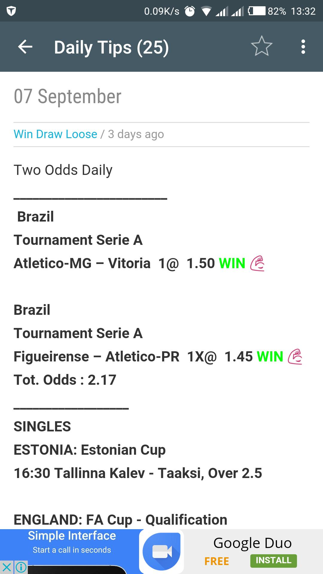 Betting Tips - Best Over 2 5 for Android - APK Download