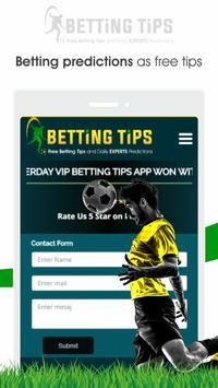 Free Betting Tips Club screenshot 4