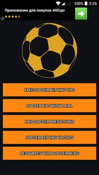 Soccer predictions and betting tips for Android - APK Download