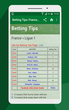 Betting tips poster