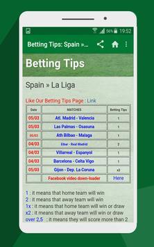Betting tips screenshot 1