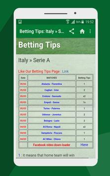 Betting tips screenshot 2