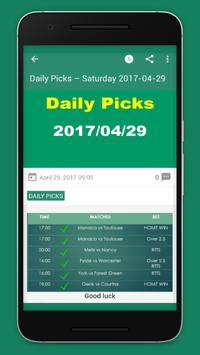 Fixed Matches - Betting Tips poster