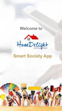Smart Society App - Homedelight poster