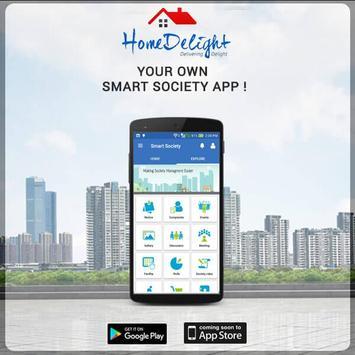 Smart Society App - Homedelight apk screenshot