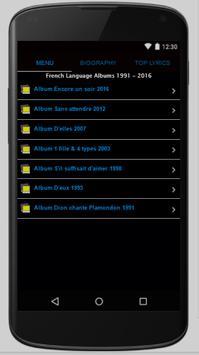 Celine Dion Full Album Lyrics screenshot 2