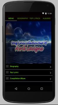 Avril Lavigne Full Lyrics poster