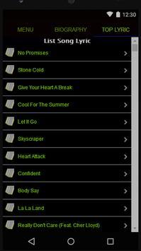 Demi Lovato Full Album Lyrics screenshot 2