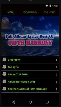 Fifth Harmony Full Lyrics poster