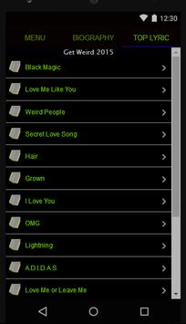 Little Mix Full Album Lyrics apk screenshot