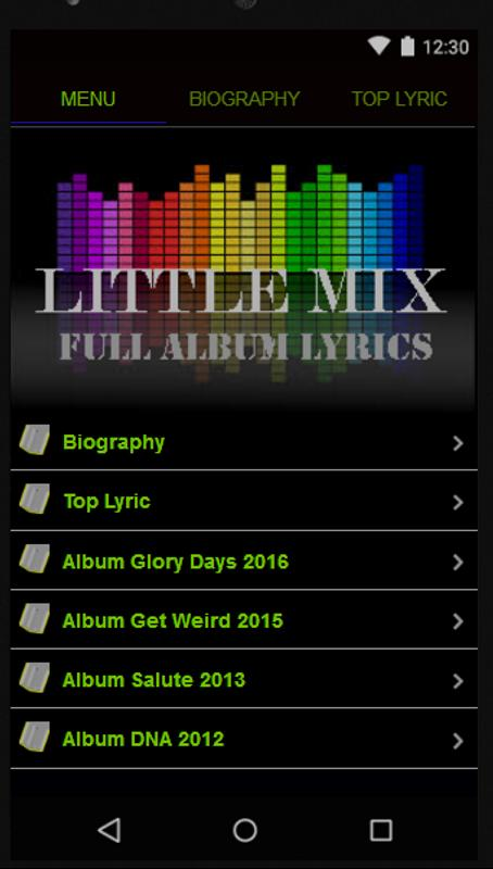 little mix get weird album download