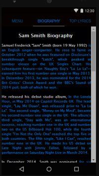 Sam Smith Full Album Lyrics screenshot 1