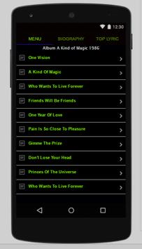 Queen Full Album Lyrics screenshot 1