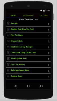 Queen Full Album Lyrics screenshot 3