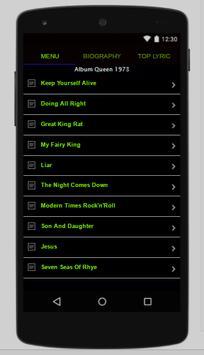 Queen Full Album Lyrics screenshot 4