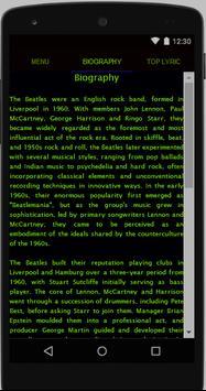 The Beatles Full Album Lyrics screenshot 1