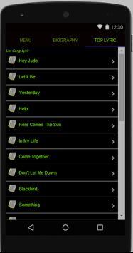 The Beatles Full Album Lyrics screenshot 2