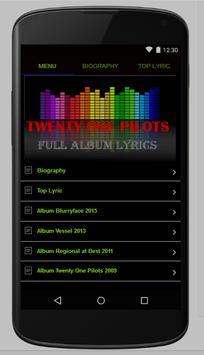 Twenty One Pilots Full Lyrics poster
